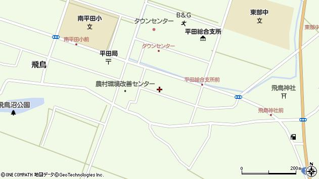 山形県酒田市飛鳥契約場50周辺の地図