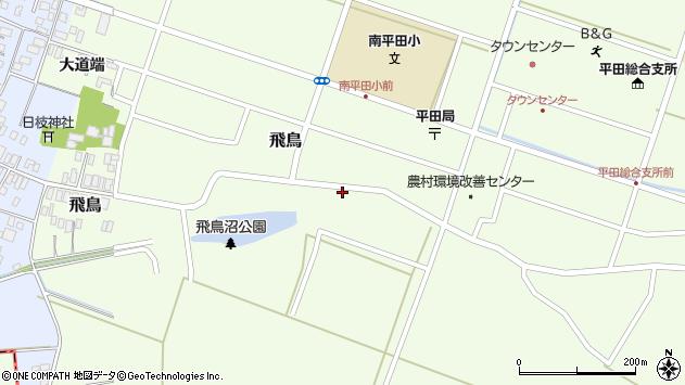 山形県酒田市飛鳥13周辺の地図