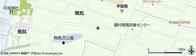 山形県酒田市飛鳥12周辺の地図