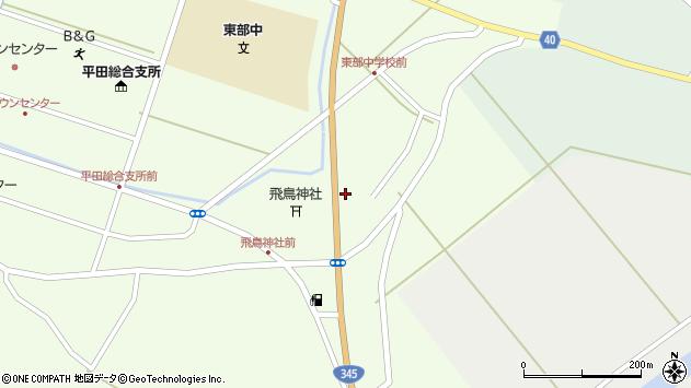 山形県酒田市飛鳥大林190周辺の地図