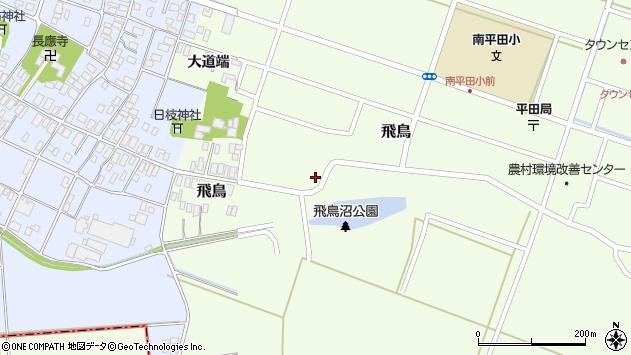 山形県酒田市飛鳥72周辺の地図