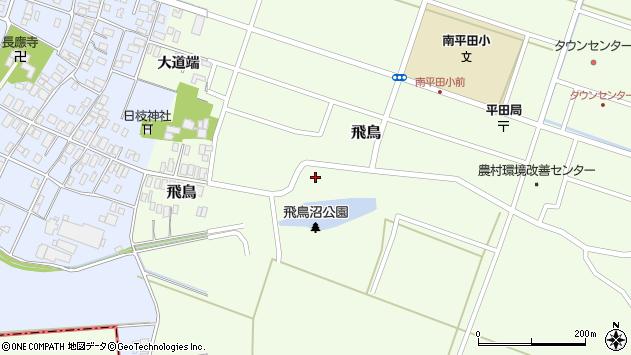 山形県酒田市飛鳥31周辺の地図