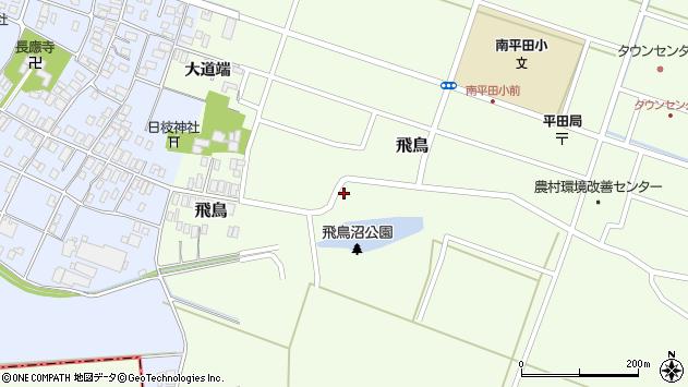 山形県酒田市飛鳥33周辺の地図