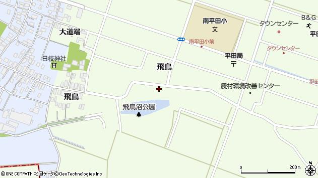 山形県酒田市飛鳥25周辺の地図