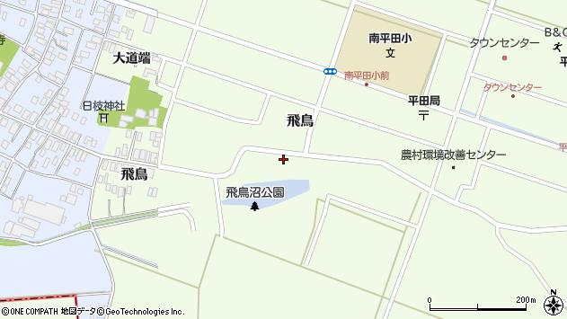 山形県酒田市飛鳥26周辺の地図