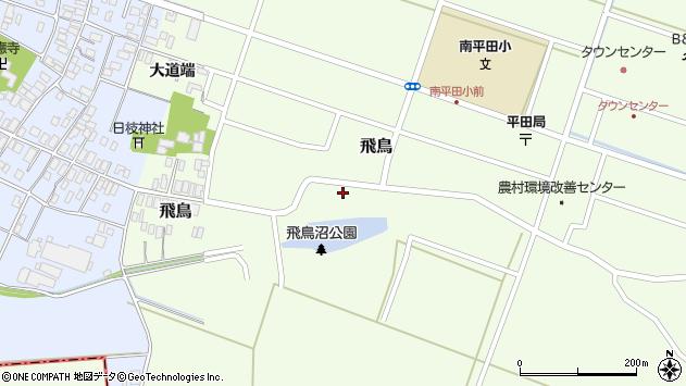 山形県酒田市飛鳥27周辺の地図
