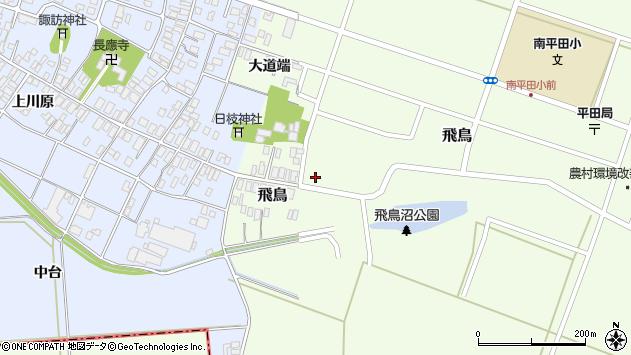 山形県酒田市飛鳥64周辺の地図
