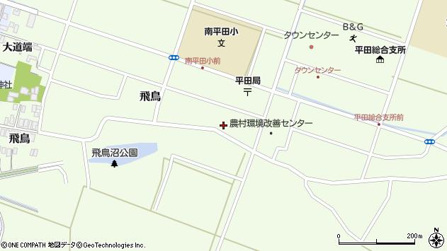 山形県酒田市飛鳥225周辺の地図
