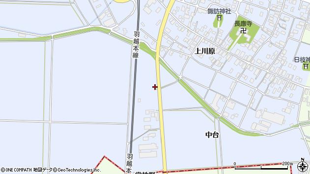山形県酒田市砂越中台16周辺の地図