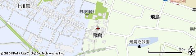 山形県酒田市飛鳥58周辺の地図