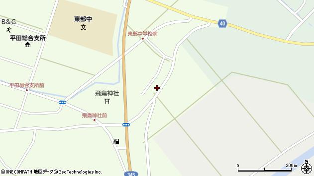 山形県酒田市飛鳥大林296周辺の地図