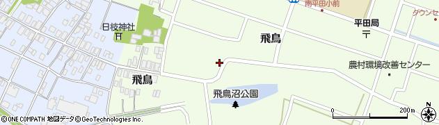 山形県酒田市飛鳥73周辺の地図