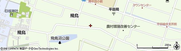 山形県酒田市飛鳥207周辺の地図