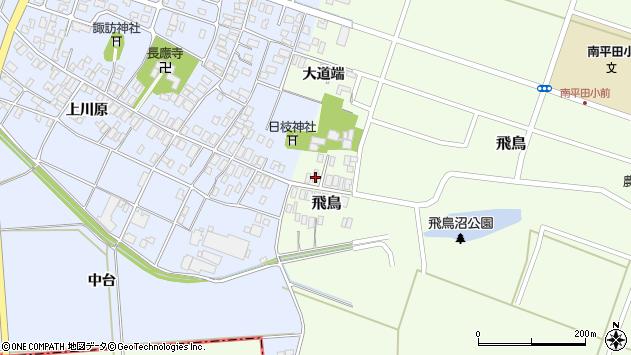 山形県酒田市飛鳥57周辺の地図
