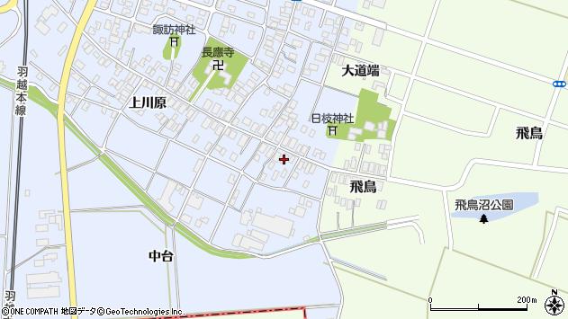 山形県酒田市砂越上川原5周辺の地図