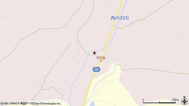 山形県最上郡金山町飛森314周辺の地図