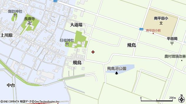 山形県酒田市飛鳥65周辺の地図