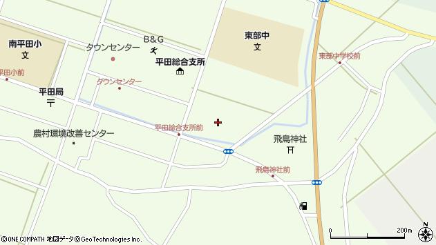 山形県酒田市飛鳥堂之後82周辺の地図