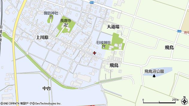 山形県酒田市砂越楯之内4周辺の地図