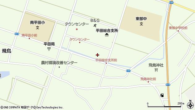 山形県酒田市飛鳥契約場41周辺の地図
