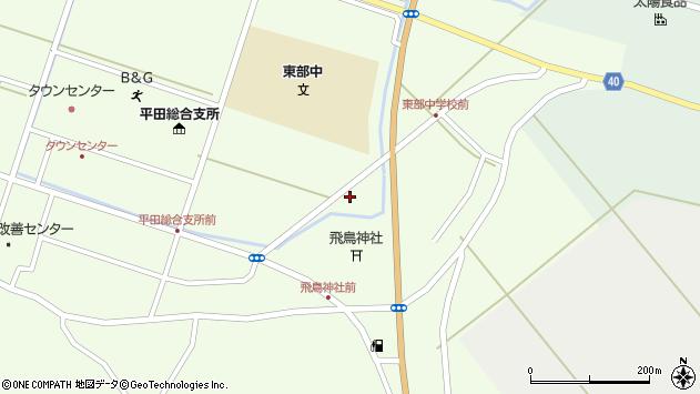 山形県酒田市飛鳥堂之後65周辺の地図