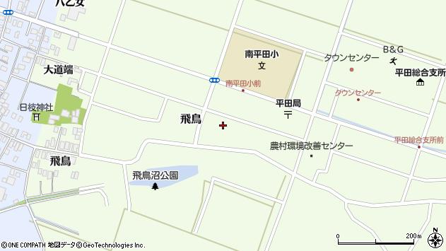 山形県酒田市飛鳥大道端199周辺の地図