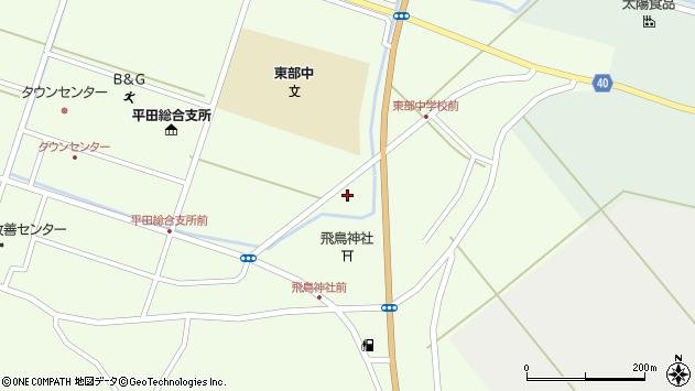 山形県酒田市飛鳥堂之後64周辺の地図
