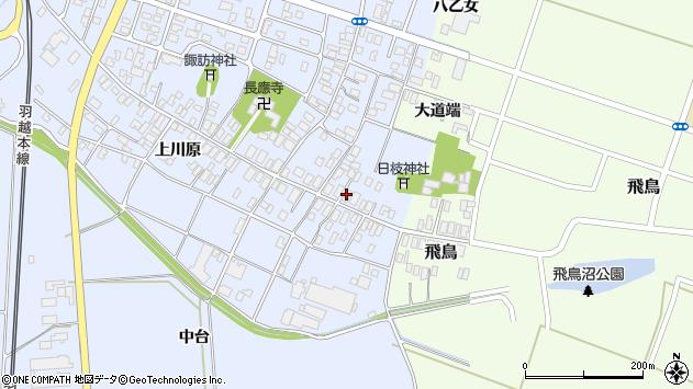 山形県酒田市砂越楯之内7周辺の地図