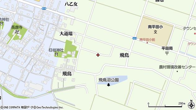 山形県酒田市飛鳥大道端201周辺の地図