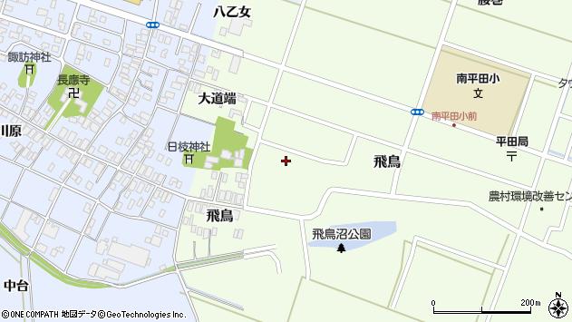 山形県酒田市飛鳥大道端204周辺の地図