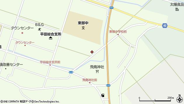 山形県酒田市飛鳥堂之後49周辺の地図