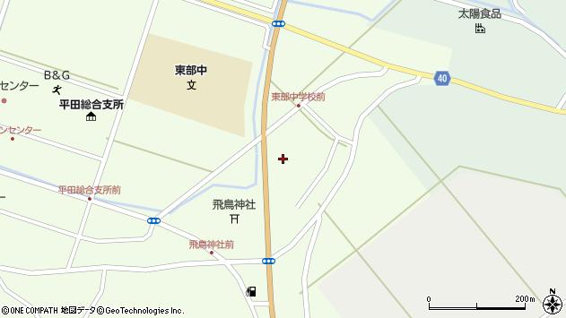 山形県酒田市飛鳥大林170周辺の地図