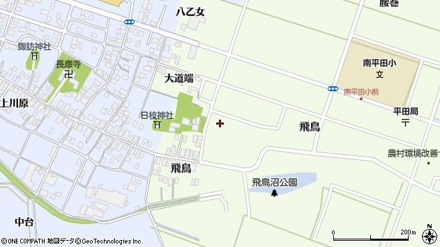 山形県酒田市飛鳥大道端203周辺の地図
