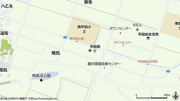 山形県酒田市飛鳥大道端84周辺の地図