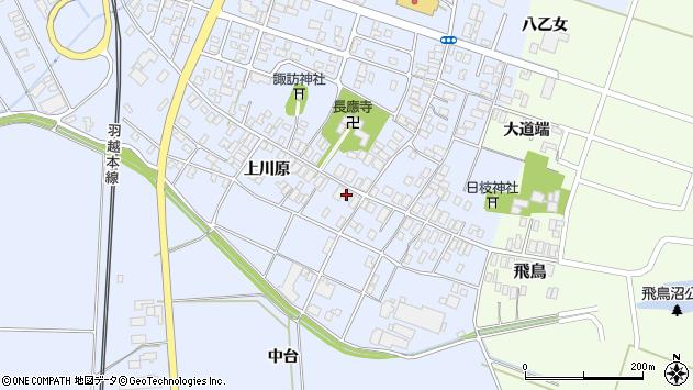山形県酒田市砂越上川原15周辺の地図