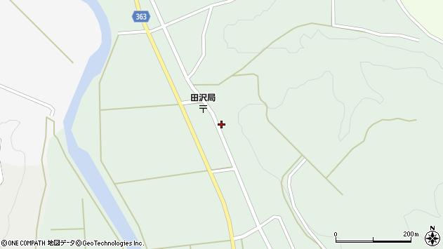 山形県酒田市田沢長根201周辺の地図