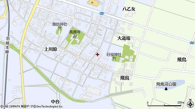 山形県酒田市砂越楯之内10周辺の地図