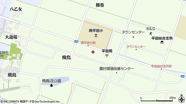 山形県酒田市飛鳥大道端95周辺の地図