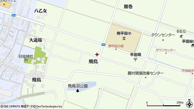 山形県酒田市飛鳥大道端134周辺の地図