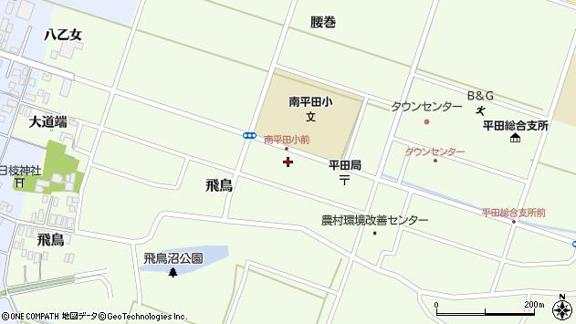山形県酒田市飛鳥大道端96周辺の地図