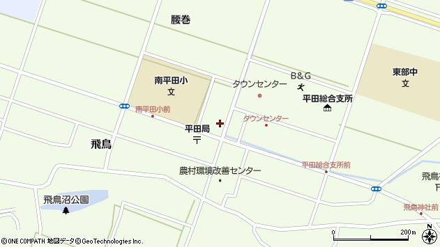 山形県酒田市飛鳥腰巻95周辺の地図