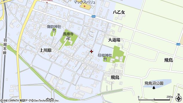 山形県酒田市砂越楯之内12周辺の地図