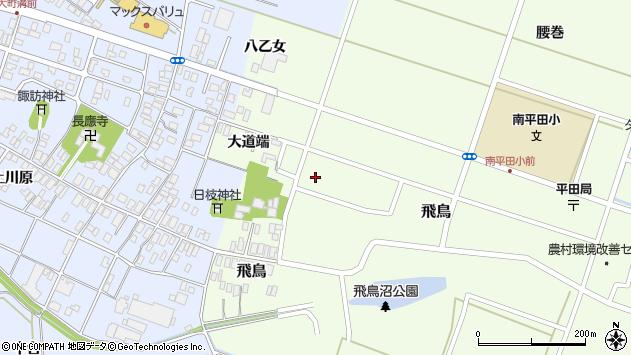 山形県酒田市飛鳥大道端188周辺の地図