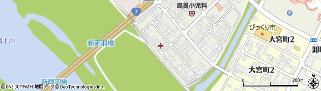 山形県酒田市あきほ町665周辺の地図
