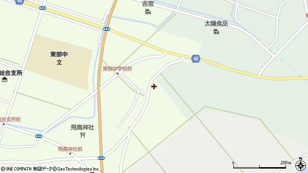 山形県酒田市飛鳥大林735周辺の地図