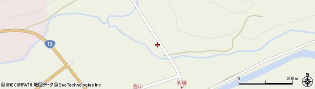 山形県最上郡金山町金山841周辺の地図