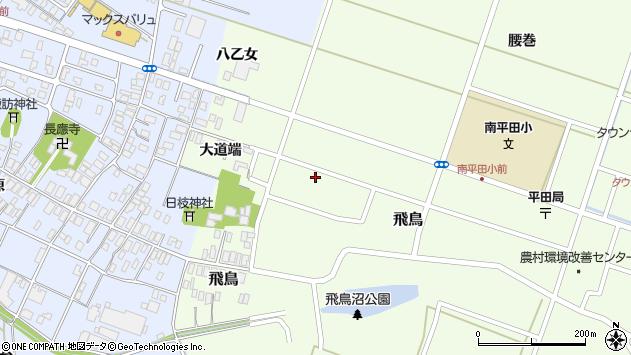 山形県酒田市飛鳥大道端184周辺の地図