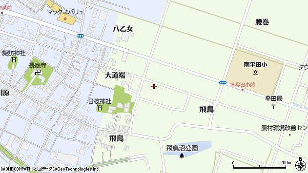 山形県酒田市飛鳥大道端187周辺の地図
