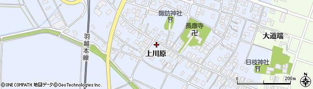 山形県酒田市砂越上川原78周辺の地図