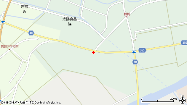 山形県酒田市楢橋荒町130周辺の地図